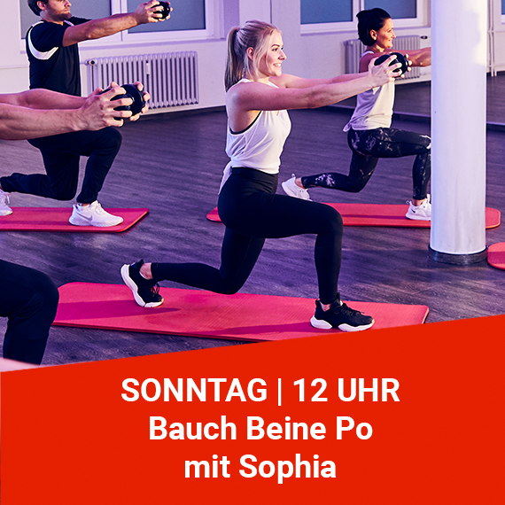 Bauch Beine Po mit Sophia wellyou Home Workout