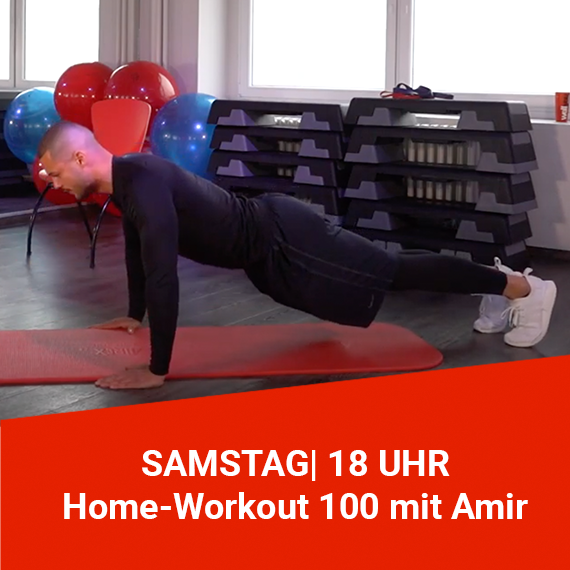 Home-Workout 100 mit Amir