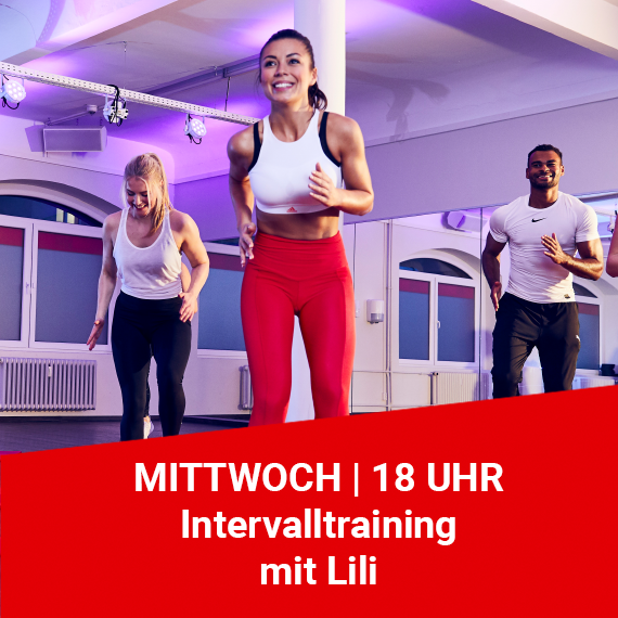 Intervalltraining mit Lili